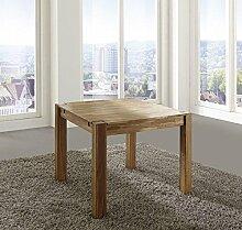 OAKY Esstisch Tisch 80x80 Wildeiche massiv geöl
