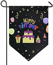 Oarencol Happy Birthday Cake Candy Gift Bunte