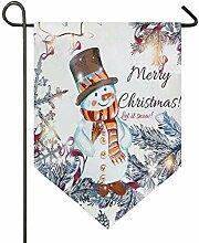 Oarencol Weihnachts-Schneemann, Winter,