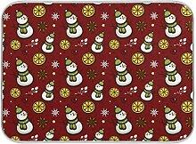 Oarenol Weihnachtsgeschirr-Trockenmatte,