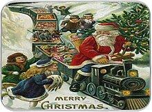 Oarenol Weihnachtsgeschirr-Trockenmatte