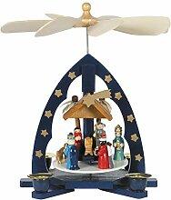 OBC Weihnachtspyramide/Krippenszene mit Heiligen
