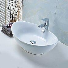 OBEEONR Design-Aufsatzwaschbecken Versiegelung aus