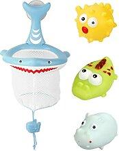 Obelunrp Babybad Spielzeug Set Light Up Squirt