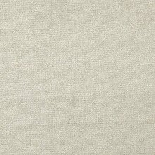Oberon 'Misty Uni': Creme Samt Polstermöbel Sofa Kissen Flammschutzmittel Stoff Material aus loome Stoffe, Oberon 'Misty Plain' : Cream, per metre