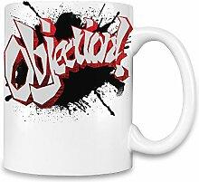 Objection! Kaffee Becher