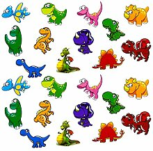 Oblique Unique® Kinder Dino Sticker Set