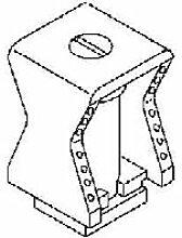 OBO BETT. Reihenschelle 2050 5-25 LGR