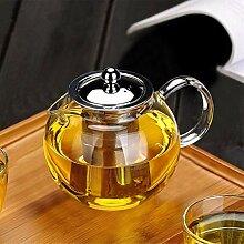 Obor Teekanne aus Glas mit herausnehmbarem