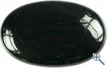 Obsidian schwarz Seifenstein Handschmeichler