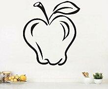 Obst Apple Abnehmbare Küche HomeAufkleber