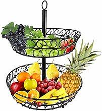 Obst Etagere 30 cm Dekorativer Obstkorb Obstschale