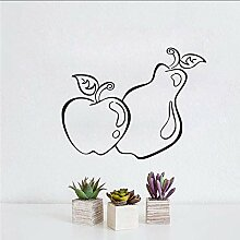 Obst wandaufkleber apple food wanddekoration