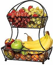 Obstkörbe Etagere Racks Fruchtracks, Metall 2