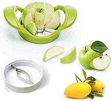 Mangoschneider Mangoentkerner Obstschneider Apfelschneider Apfelschäler