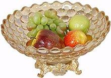 Obstteller Glas Europäischen Obstschalen für Die
