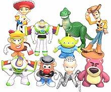Occitop 10 Cartoon-Anime-Figuren Modell-Spielzeug,