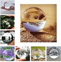 OCDAY® Glaskugel,Glaskugeln klar Kristallkugeln