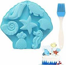 Ocean Animal Form Kuchenform,