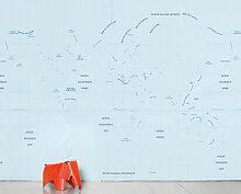 Ocean Panorama-Tapete 8 Bahnen - Domestic - Blau