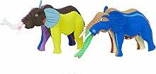 Ocean Sole Ltd. Upcycling Tierfigur Elefant aus