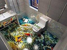 Ocean World 3D Bodenbelag Tapeten Für wohnzimmer