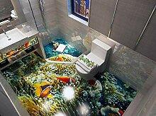 Ocean World 3D Wohnzimmer Bodentapete 3D