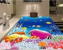 Ocean World Coral 3D Bodenfliesen Schlafzimmer