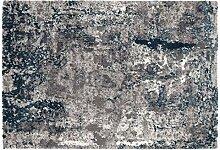 OCI JUWEL LIRAY Teppich 696 grau-Petrol 140 x 200
