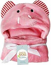 OCJEDDEEE Baby Bademantel mit Kapuze, für