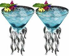Octopus Cocktailglas Cerahome transparent