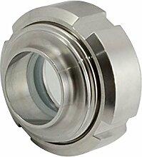 OD 32 Klar Sanitär Schauglas Edelstahl SS316 Circular Viewing