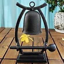 ODDINER Service Bell Gusseisen Handwerk Vintage