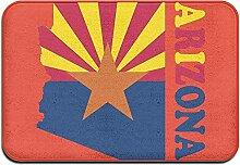 Odelia Palmer Arizona Flag Map Indoor Outdoor