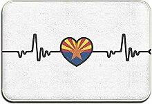 Odelia Palmer Arizona Flagge Herzschlag Linie Herz