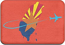 Odelia Palmer Arizona Flagge mit Flugzeug