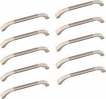 Oderola 10 Piece Zink-Legierung Möbelgriffe Möbelgriff Schrankgriffe Glänzend Türgriffe Cabinet Handles