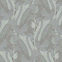 Odette Swan Tapete Silber Muriva 151102