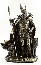 Odin Figur Skulptur Statue bronzier
