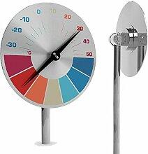 ODIN Gartenthermometer DISC SPEED - Durchmesser je 150 mm, Höhe 1170 mm, Odin Products / Odin Produkte / Odin GmbH