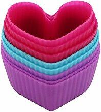 ODN 8 Stück Herz kuchen Liner Tasse Cupcake