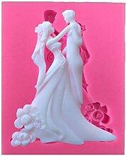 ODN Braut und Bräutigam Silikonform Wedding