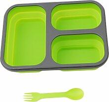 ODN Kinder Lunchbox / Faltbar Brotdose mit