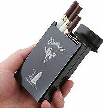 ODN Metallic Zigarettenetuis, Zigarettenboxen mit