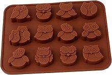 ODN Silikonform Schokoladenform Pudding