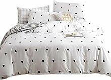 Odot Nordischer Stil Bettbezug Bettwäsche-Set 3