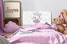Oedim Kopfteil für Kinderbett, PVC, Motiv: Bär