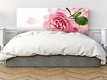 Oedim Kopfteil Pegasus Pink Flower 135 x 60 cm in