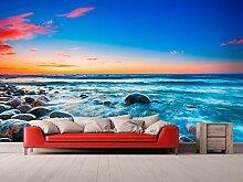 Oedim Tapete Strand Rocosa Sonnenuntergang |