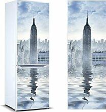 Oedim – Vinyl-Aufkleber für Kühlschrank Turm